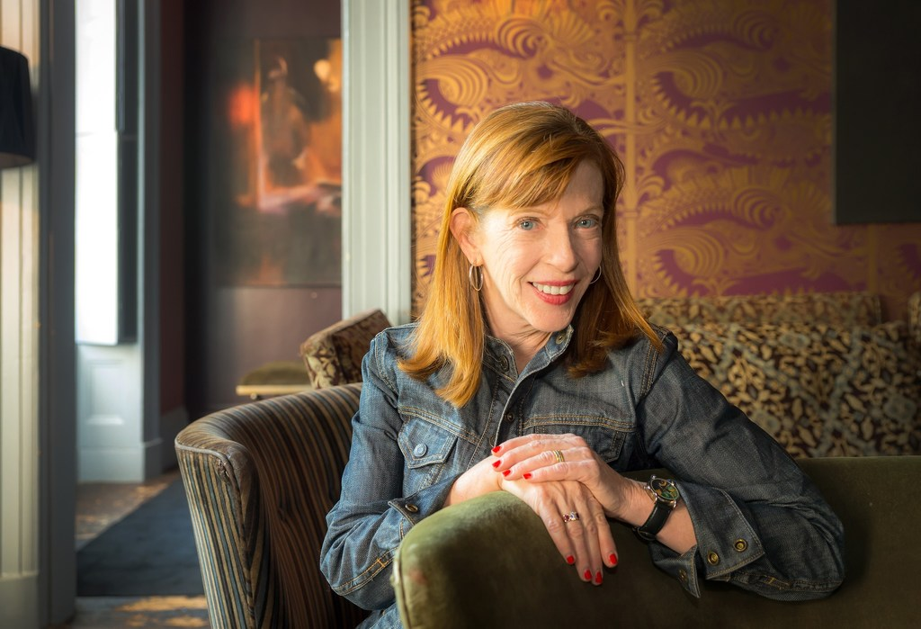 Susan Orlean. Photo by Noah Fecks.