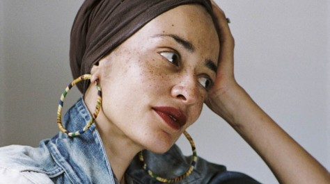 Zadie Smith, photo by Dominique Nabokov